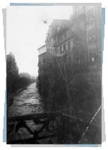 Inundaciones calle Miracruz, año 1933